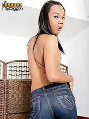 Rabbit Is 19, She Is Extremly Cute. She's Got Really Cute Teeth, Dark Skin, Nice Cock And A Very Hot Plump Ass That Feels Great.